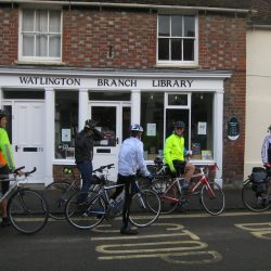 Outside Watlington Library